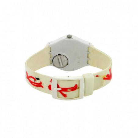 Zegarek damski Swatch GW146 / wyblakły pasek