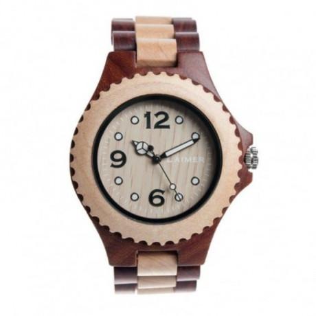 zegarek męski LAIMER 0012 zegarek drewniany