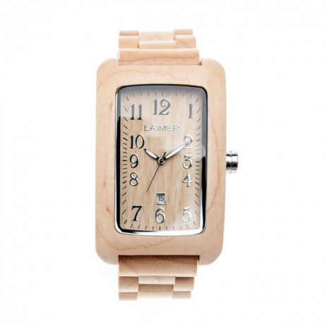 zegarek męski LAIMER 0025 zegarek drewniany